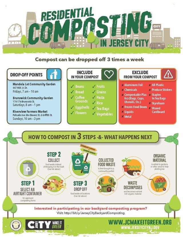 composting jersey city