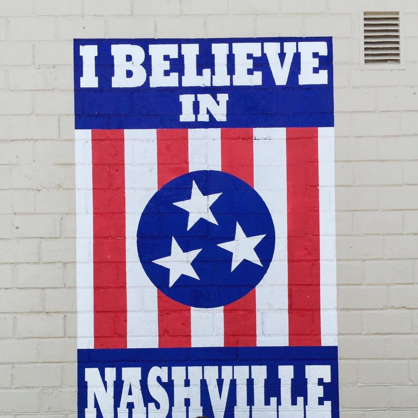 nashville i believe sign