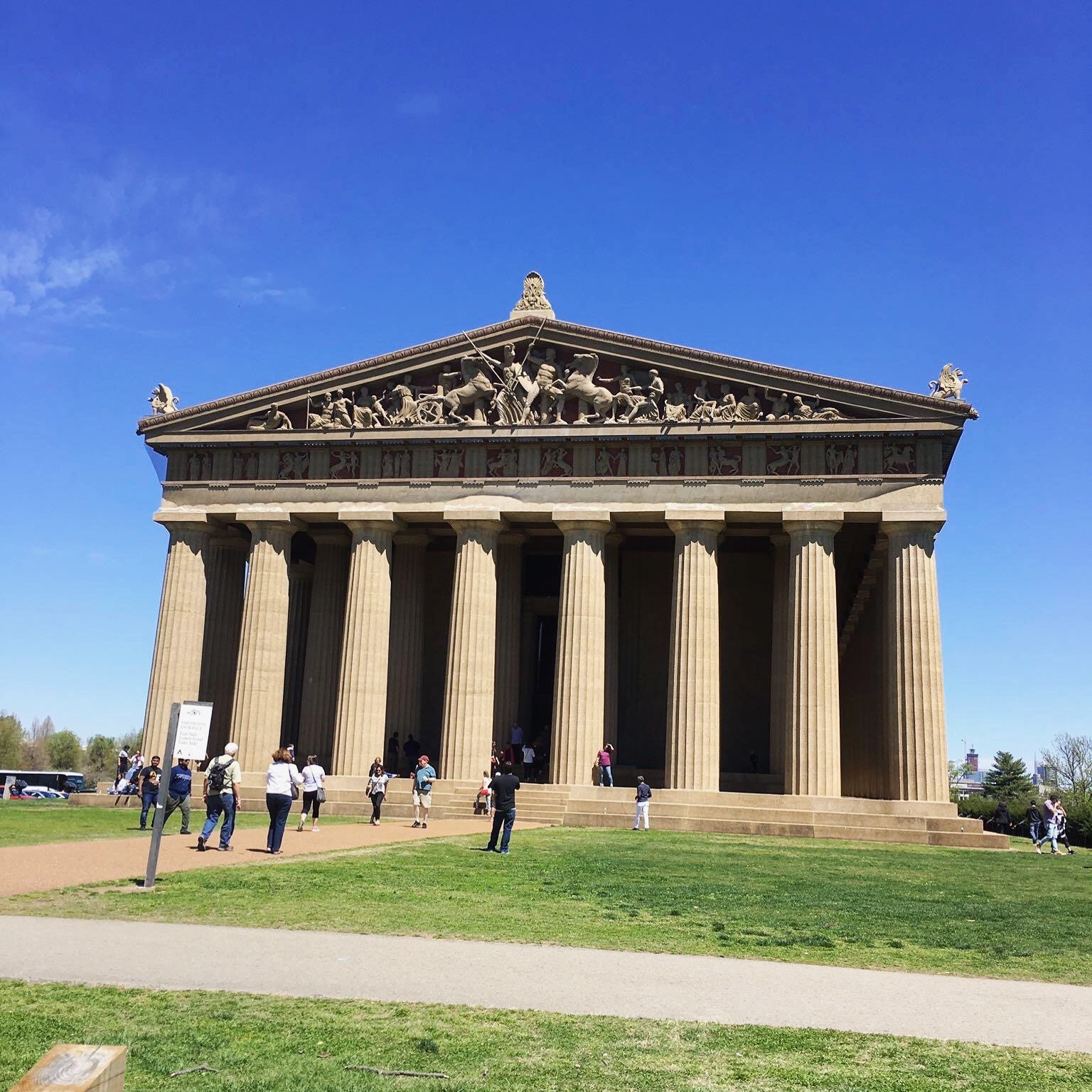 nashville parthenon landmark