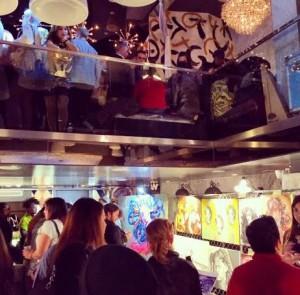 An inside view at RAW's 'Awakening' showcase.