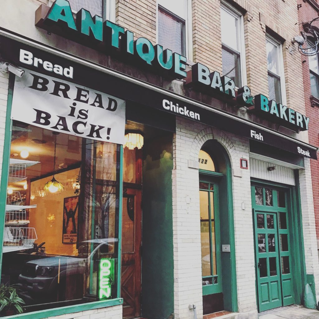 antique bar and bakery hoboken